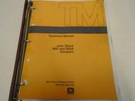 John Deere 860 & 860A Scraper Technical Service Repair Shop Manual USED OEM ***