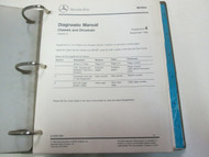 Mercedes Model 129 140 & 204 Chassis Drive Service Manual Supplement Updates ***