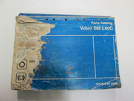 Volvo BM Construction Equipment L90C Parts Catalog Manual DAMAGED FADED STAINED