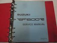 1993 Suzuki RF600F Motorcycle Service Repair Manual FACTORY OEM Used Book ***