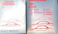 1993 Nissan Maxima Service Repair Shop Workshop Manual Set W Wiring Diagram