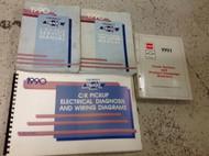 1990 Chevrolet Chevy C/K Truck Silverado Sierra Service Shop Repair Manual Set