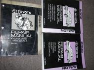 2002 TOYOTA AVALON Service Shop Repair Manual Set OEM W TRANSAXLE BOOK