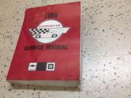 1989 GM Chevrolet Chevy CORVETTE Service Repair Shop Workshop Manual Worn OEM