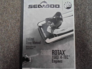 2005 Sea Doo Rotax 1503 4 Tec Boat Service Repair Shop Workshop Manual OEM
