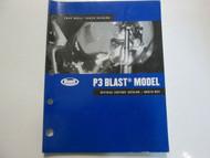 2005 Buell P3 Blast Models Parts Catalog Manual FACTORY NEW