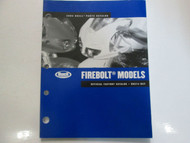 2005 Buell Firebolt Models Parts Catalog Manual FACTORY OEM BOOK NEW 2005 x