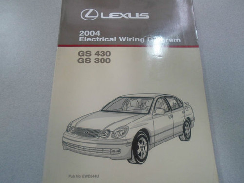 2004 Lexus Gs430 Gs300 Electrical Wiring Diagram Service
