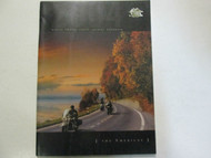 2004 Harley Davidson Touring Handbook The Americas Owners Group Guide Manual