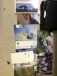 2003 BMW X5 X 5 X-5 X5 3.0i 4.4i 4.6i Owners Manual W CASE + EXTRAS OEM BOOK