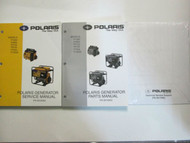 2002 Polaris Portable Generator Service Repair Shop Manual SET FACTORY OEM BOOKS