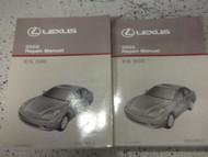 2002 Lexus ES300 ES 300 Service Shop Repair Manual SET FACTORY OEM 02 BOOKS USED