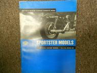 2002 Harley Davidson Sportster Models Electrical Diagnostic Service Manual 02