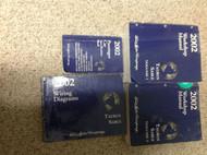 2002 FORD TAURUS MERCURY SABLE Service Shop Repair Manual 4 VOLUME SET W SPECS +