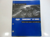 2002 Buell Thunderbolt S3T Model Parts Catalog Manual FACTORY OEM BOOK USED 02