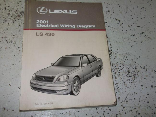 2001 Lexus Ls430 Ls 430 Electrical Wiring Diagram Ewd