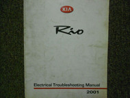 2001 KIA Rio Electrical Troubleshooting Service Repair Shop Manual Factory OEM