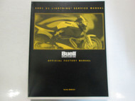 2001 Buell X1 Lightning Service Repair Shop Manual FACTORY New BOOK