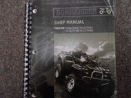 2001 Bombardier Traxter Series Shop Repair Service Manual FACTORY OEM BOOK NEW X
