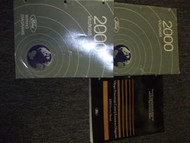 2000 FORD MERCURY VILLAGER Service Shop Repair Manual Set W EWD & POWERTRAIN BK