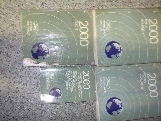 2000 Ford Focus Service Repair Shop Manual Set Factory Oem