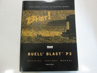 2000 Buell Blast P3 Service Repair Shop Manual FACTORY OEM BOOK BRAND NEW 2000