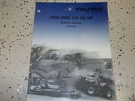 2000 2001 2002 2003 Polaris 120 ATV Shop Repair Service Manual FACTORY OEM 00-03