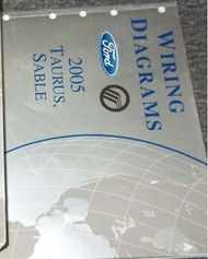 2005 FORD TAURUS & MERCURY SABLE Electrical Wiring Diagram Manual EWD EVTM OEM