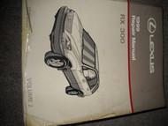 1999 Lexus RX300 RX 300 Service Shop Repair Manual BRAND NEW VOLUME 2 ONLY