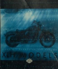 1999 Harley Davidson Sportster MODELS XLH Service Shop Repair Manual FACTORY NEW
