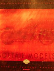 1999 HARLEY DAVIDSON SOFTAIL SOFT TAIL MODELS Service Shop Repair Manual OEM NEW