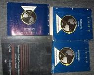 1999 FORD MUSTANG Service Shop Repair Manual Set OEM FACTORY BOOKS 99 4 INC
