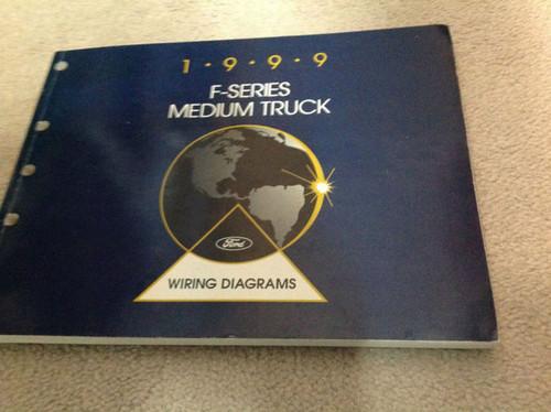 1999 Ford F Series F250 F-250 F350 Duty Truck Electrical Wiring Diagram Manual