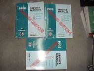 1998 Pontiac Grand Am Achieva Buick Skylark Service Shop Manual Set 2ND Edition