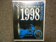 1998 Harley Davidson XLH Models Service Repair Shop Manual FACTORY NEW