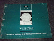 1998 FORD WINDSTAR VAN Electrical & Vacuum Troubleshooting Shop Manual EVTM