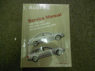 1998 99 2000 2001 2002 03 2004 A6 S6 RS6 Allroad Quattro Service Repair Manual X