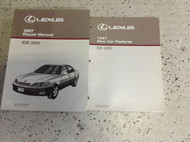 1997 Lexus ES300 ES 300 Service Repair Manual BOOK Set W FEATURES Book OEM