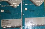 1997 Cadillac DeVille Eldorado Seville Service Shop Repair Manual Set FACTORY