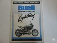 1997 Buell Lightning S1 Service Shop Manual Supplement FACTORY BRAND NEW