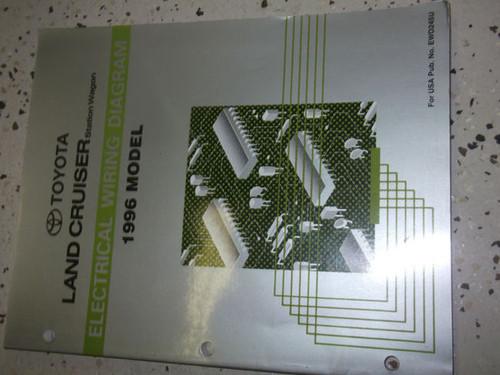 1996 Toyota Land Cruiser Electrical Wiring Diagrams