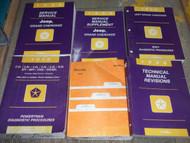 1996 JEEP GRAND CHEROKEE Service Repair Shop Manual Set W TECH BULLS & RECALLS B