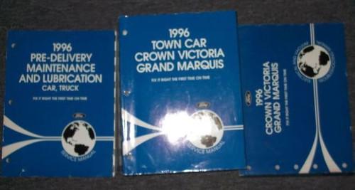 1996 Ford Crown Victoria Mercury Grand Marquis Service