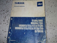 1996 1997 Yamaha VT500A 600A MM600A 700A VX700SXA VX500XTA Service Shop Manual x