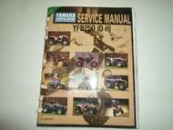 1995 Yamaha YFB250 D H Supplementary Service Manual DAMAGED FACTORY OEM BOOK 95