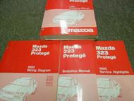 1995 Mazda 323 Protege Service Repair Shop Manual SET FACTORY BOOKS OEM 95