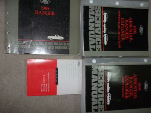1995 Ford Ranger Truck Service Shop Repair Manual Set W