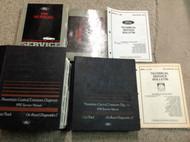 1995 FORD MUSTANG Service Shop Repair Manual Set W EWD + PCED & Bulletin OEM