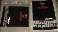 1995 FORD MUSTANG Service Shop Repair Manual Set W ELECTRICAL WIRING DIAGRAMS