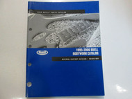 1995 1997 1999 2001 2006 Buell Bodywork Parts Catalog Manual FACTORY OEM BOOK